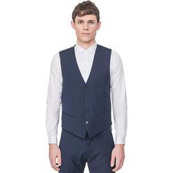 textil Herre Veste / Cardigans Antony Morato MMVE00087 FA650176 Blå