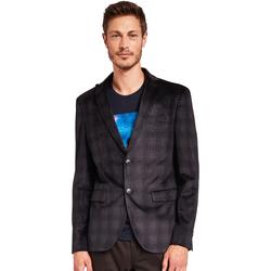 textil Herre Jakker / Blazere Gaudi 921FU35033 Sort