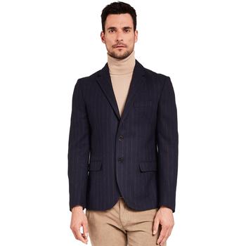 textil Herre Jakker / Blazere Gaudi 921FU35057 Blå