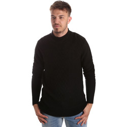 textil Herre Pullovere Gaudi 921FU53025 Sort
