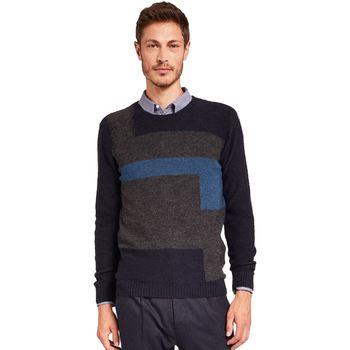 textil Herre Pullovere Gaudi 921FU53044 Blå
