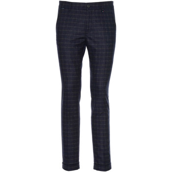 textil Herre Habit bukser NeroGiardini A970573U Blå