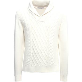 textil Herre Pullovere Nero Giardini A974530U hvid
