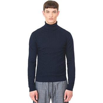 textil Herre Pullovere Antony Morato MMSW00977 YA200055 Blå
