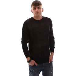 textil Herre Pullovere Antony Morato MMSW00985 YA400006 Sort