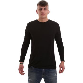 textil Herre Langærmede T-shirts Antony Morato MMKL00264 FA100066 Sort