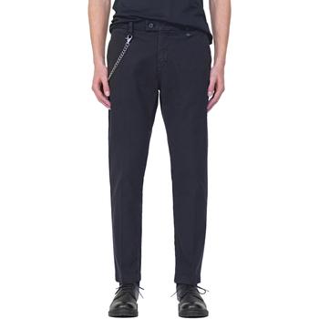 textil Herre Chinos / Gulerodsbukser Antony Morato MMTR00526 FA800094 Blå