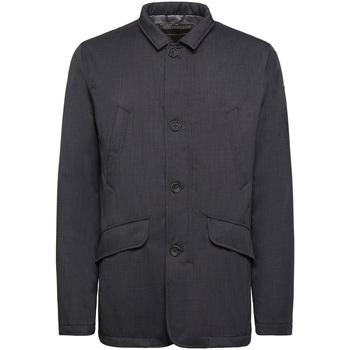 textil Herre Frakker Geox M9420P T2517 Blå