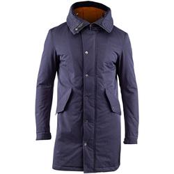 textil Herre Parkaer Lumberjack CM37821 003 505 Blå