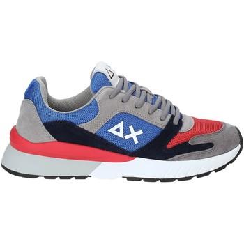 Sko Herre Lave sneakers Sun68 Z29116 Blå