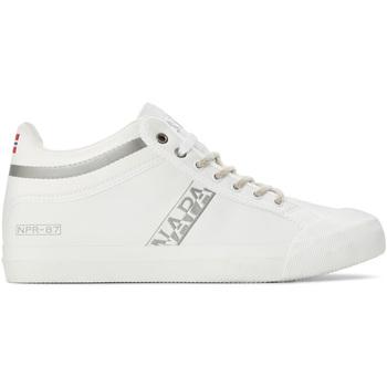 Sko Herre Høje sneakers Napapijri NA4DWR hvid