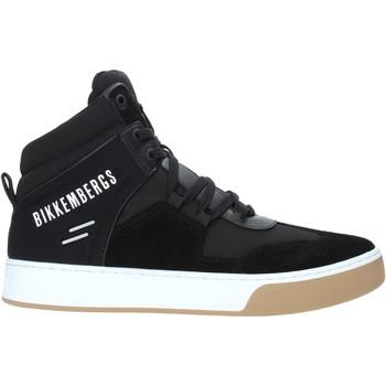 Sko Herre Høje sneakers Bikkembergs B4BKM0038 Sort