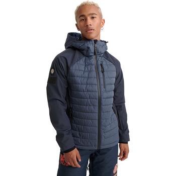 textil Herre Jakker Superdry MS1019YR Blå