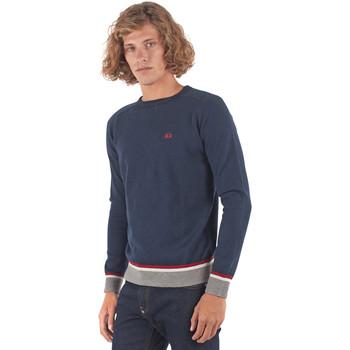 textil Herre Pullovere La Martina OMS021 YW025 Blå