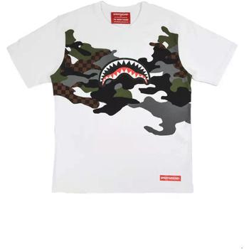 textil Herre T-shirts m. korte ærmer Sprayground SP022S hvid