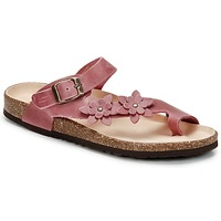 Sko Dame Flip flops Dream in Green MINIK  FUCHSIA