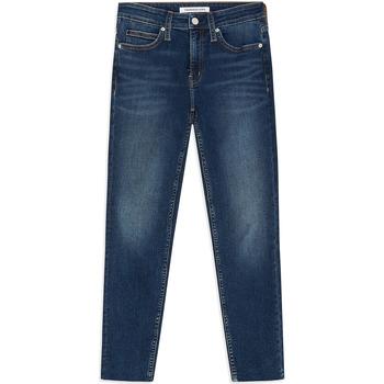 textil Dame Jeans - skinny Calvin Klein Jeans J20J211886 Blå