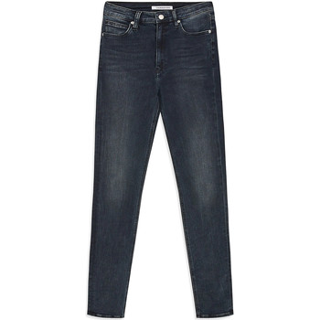 textil Dame Smalle jeans Calvin Klein Jeans J20J212018 Blå