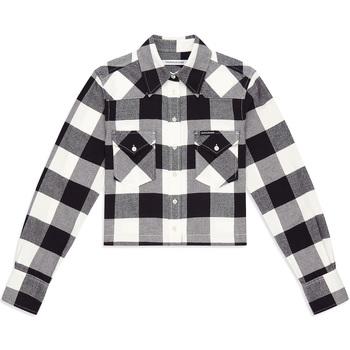 textil Dame Skjorter / Skjortebluser Calvin Klein Jeans J20J212123 Sort