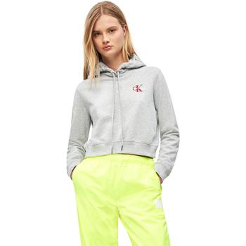 textil Dame Sweatshirts Calvin Klein Jeans J20J210601 Grå
