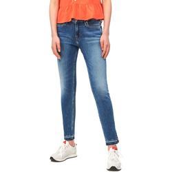 textil Dame Smalle jeans Calvin Klein Jeans J20J211434 Blå