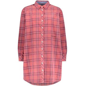 textil Dame Skjorter / Skjortebluser Tommy Hilfiger DW0DW07213 Lyserød