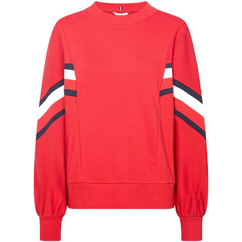 textil Dame Sweatshirts Tommy Hilfiger WW0WW25803 Rød