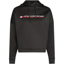 textil Dame Sweatshirts Tommy Hilfiger S10S100360 Sort