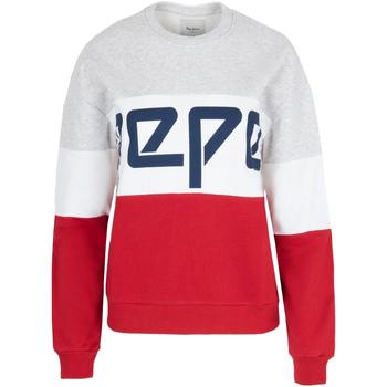 textil Dame Sweatshirts Pepe jeans PL580853 Rød