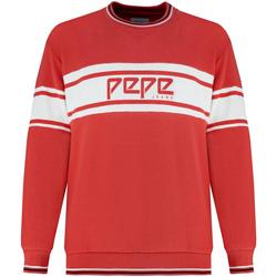 textil Dame Sweatshirts Pepe jeans PL580855 Rød