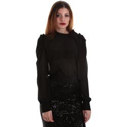 textil Dame Toppe / Bluser Denny Rose 921ND45001 Sort