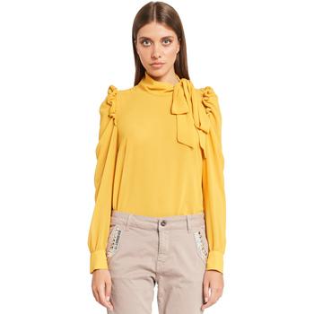 textil Dame Toppe / Bluser Denny Rose 921ND45001 Gul