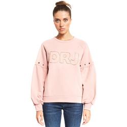 textil Dame Sweatshirts Denny Rose 921ND64018 Lyserød