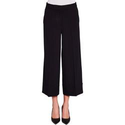 textil Dame Løstsiddende bukser / Haremsbukser Gaudi 921FD25015 Sort