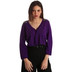 textil Dame Veste / Cardigans Gaudi 921FD53018 Violet