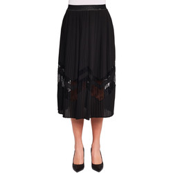 textil Dame Nederdele Gaudi 921FD75006 Sort