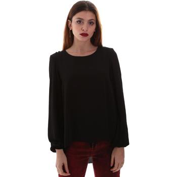 textil Dame Skjorter / Skjortebluser Gaudi 921BD45023 Sort