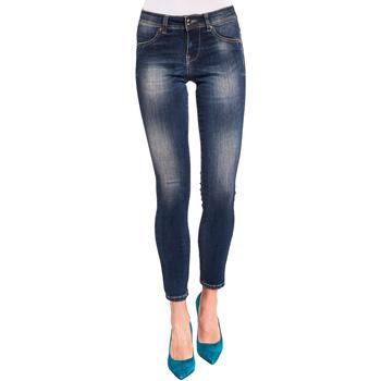 textil Dame Smalle jeans Gaudi 921BD26008 Blå