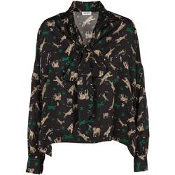 textil Dame Toppe / Bluser Liu Jo W69040 T4031 Sort