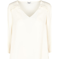 textil Dame Toppe / Bluser Liu Jo W69064 T5630 Beige