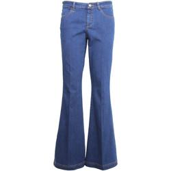 textil Dame Bootcut jeans Nero Giardini A960660D Blå