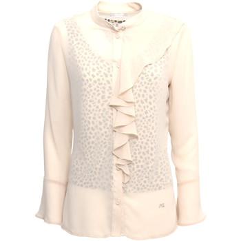 textil Dame Skjorter / Skjortebluser Nero Giardini A963130D Beige