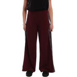 textil Dame Træningsbukser Ea7 Emporio Armani 6GTP63 TJ31Z Rød