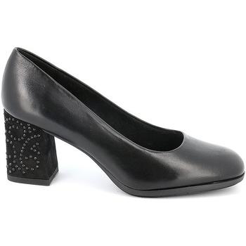 Sko Dame Højhælede sko Grunland SC4756 Sort