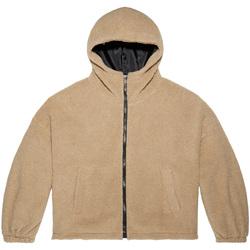 textil Dame Sweatshirts Converse 10019263-A01 Brun