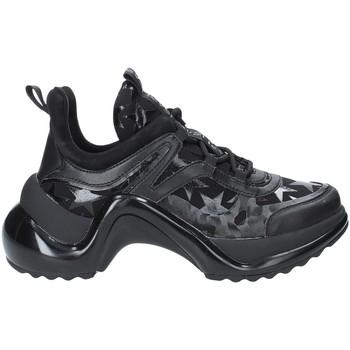 Sko Dame Lave sneakers Studio Italia LOVE01 Sort