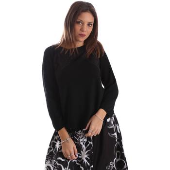 textil Dame Pullovere Fracomina FR19FP8117 Sort