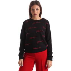 textil Dame Sweatshirts Fracomina FR19FP961 Sort