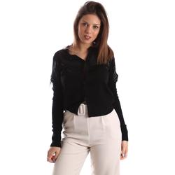 textil Dame Veste / Cardigans Fracomina FR19FMMARIELLA Sort