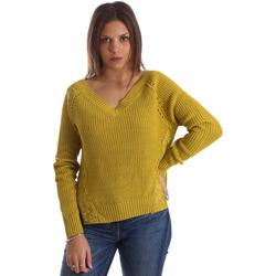 textil Dame Pullovere Fracomina FR19FM836 Gul